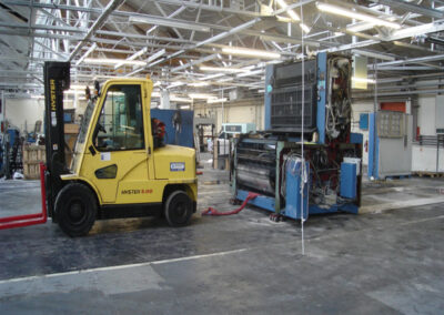 Printing Press relocation experts