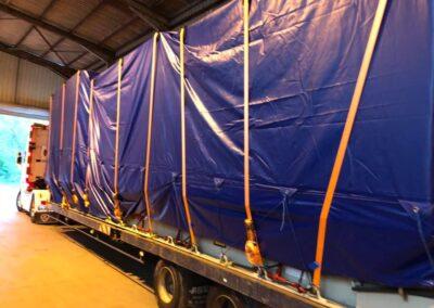 Logistics Press Relocation