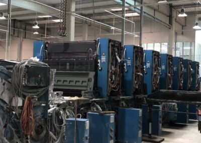 Printing Press Removals